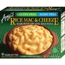 Amy's Gluten Free Dairy Free Rice Mac & Cheese