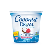 Raspberry Coconut Yogurt