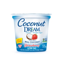Strawberry Coconut Yogurt